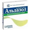 Альдазол табл. п/плен. оболочкой 400 мг блистер, в пачке №3