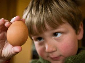 отравление яйцами у ребенка