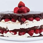 Рецепт праздничного шоколадного торта