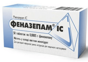 Передозировка феназепамом