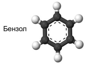 бензолом, отравление