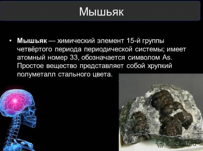отравление мышьяком симптомы у человека