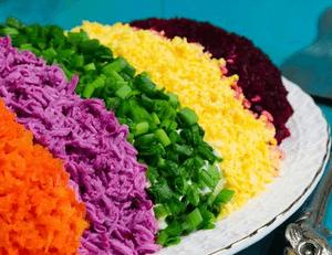 отравление салатами