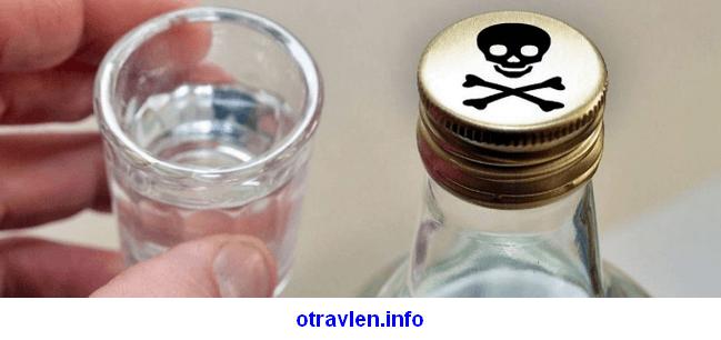 признаки отравления метанолом