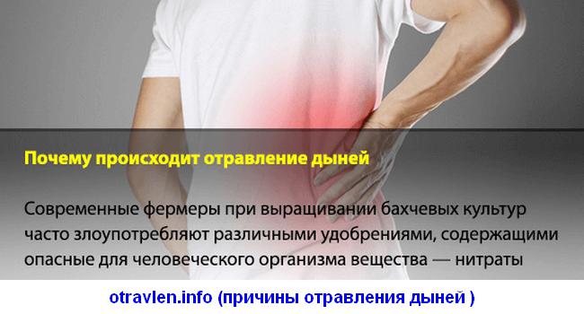 причины и симптомы отравления дыней