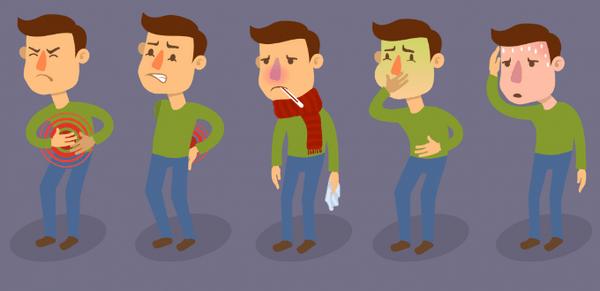 Симптомы и последствия при отравлении (при диете)