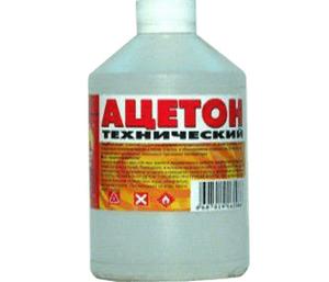 Отравление ацетоном