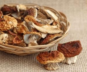 Отравление сушеными грибами