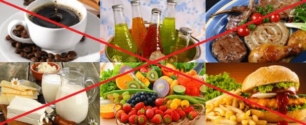 что нельзя кушать при отравлении