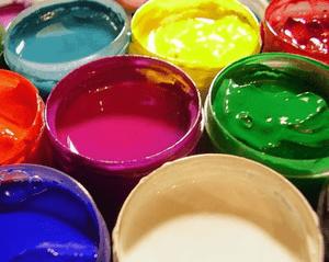отравление краской