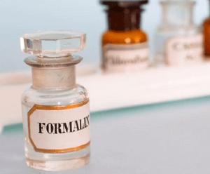 отравление формалином