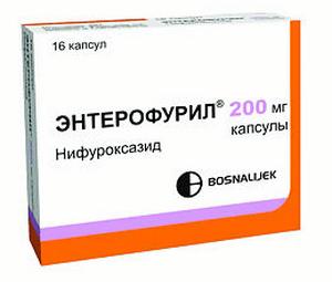Энтерофурил при отравлении