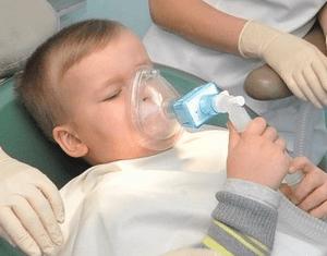 Как влияет наркоз на ребенка