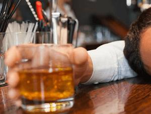 Острая форма интоксикации алкоголем