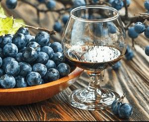 вино из ягод терна - польза и вред