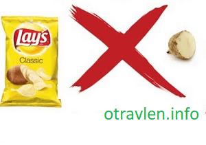 Вред чипсов для организма