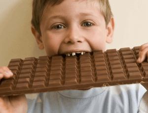 отравление сладким ребенка