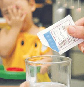 что пить ребенку при отравлении