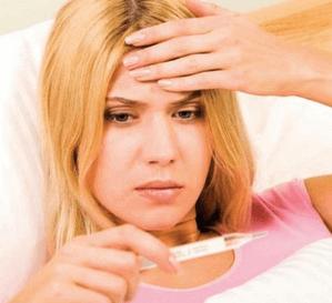 Как сбивать температуру при отравлении взрослому