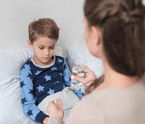 первая помощь при отравлении изофрой ребенку