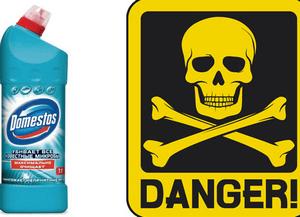 последствия при отравлении доместосом