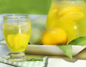 Вода с лимоном при отравлении
