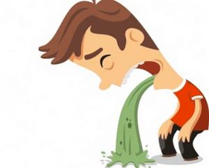 отравление желчью симптомы