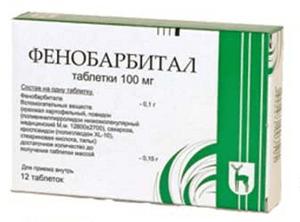 Отравление фенобарбиталом
