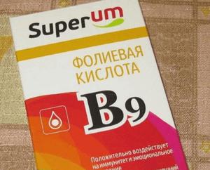 передозировка фолиевой кислоты
