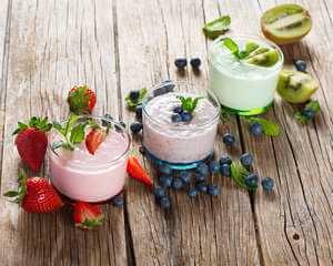 Употребление йогурта после отравления