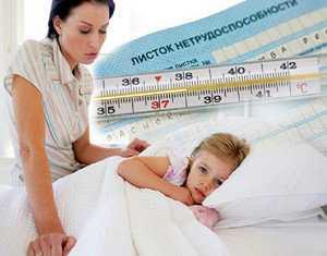 Оформление больничного после отравления