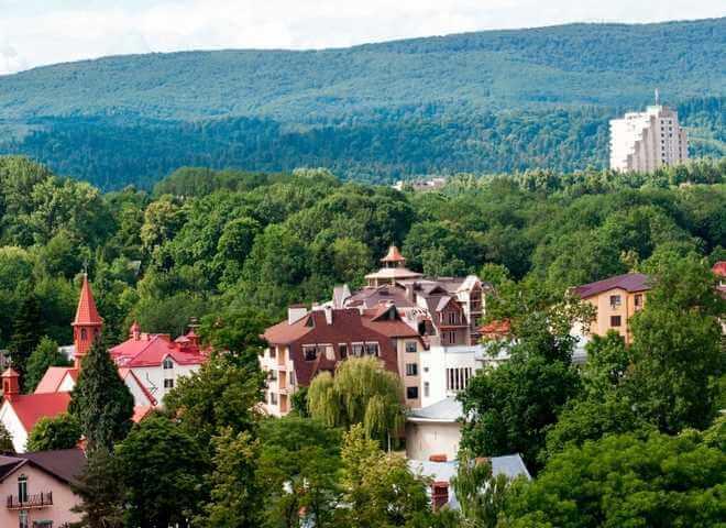 Лечебные курорты Трускавца