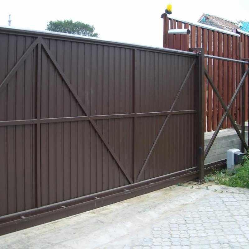 Привод для автоматических откатных ворот – залог безотказной работы