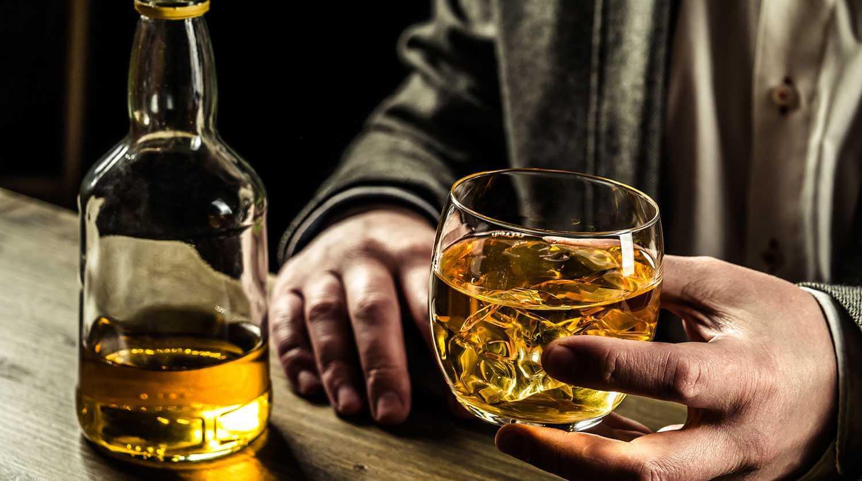 Отпечаток алкоголя на коже