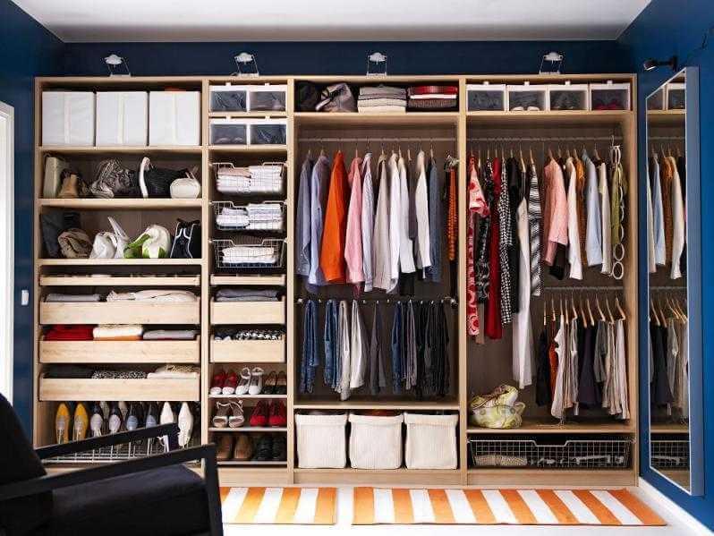 Вам нужны простые гардеробы