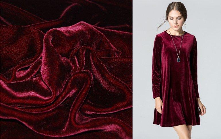 Ткань бархат высокого качества по разумной цене от надежного магазина alltext.com.ua
