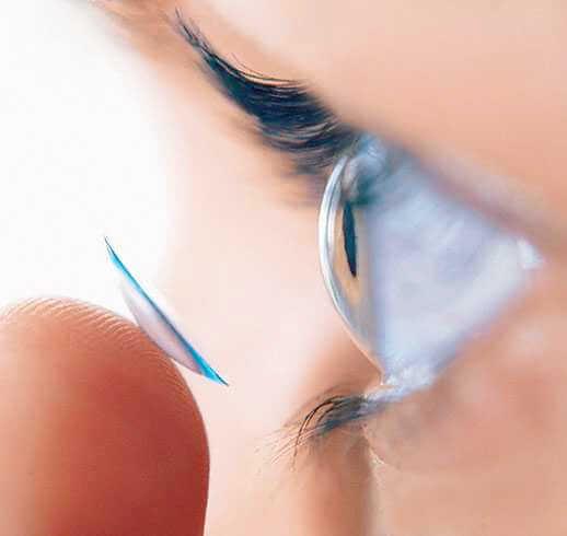 Типы контактных линз