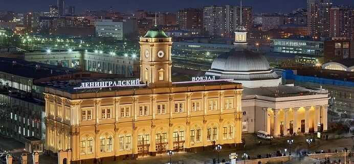 Ленинградский вокзал Москвы. Мини-отели в Ленинградской области
