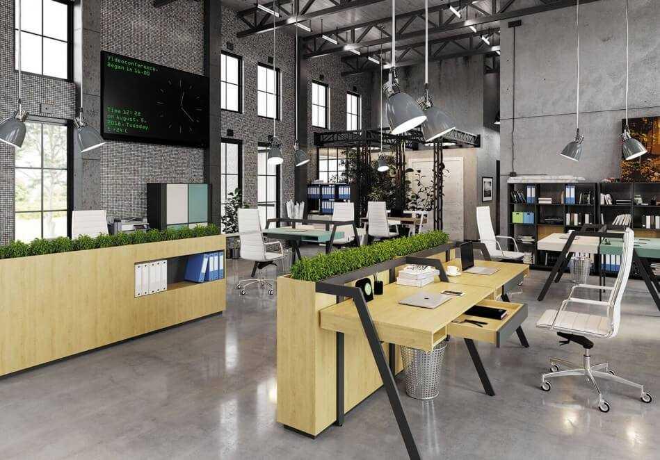 Качественная офисная мебель и ее влияние на работоспособность сотрудников